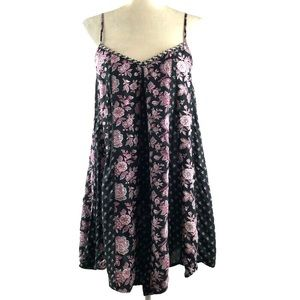 American Eagle Outfitters Floral Lace Up Dress
